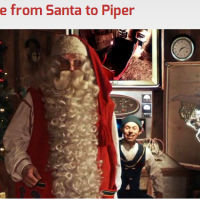 Free Personalized Video Message from Santa!