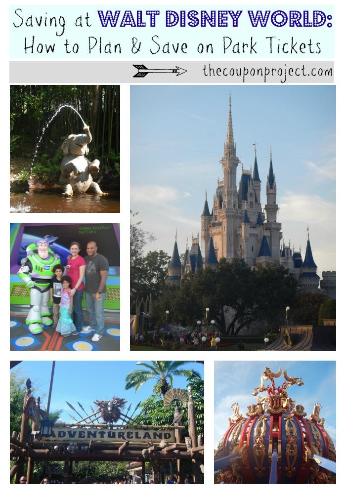 Saving at Walt Disney World | Planning & Saving on Park Tickets