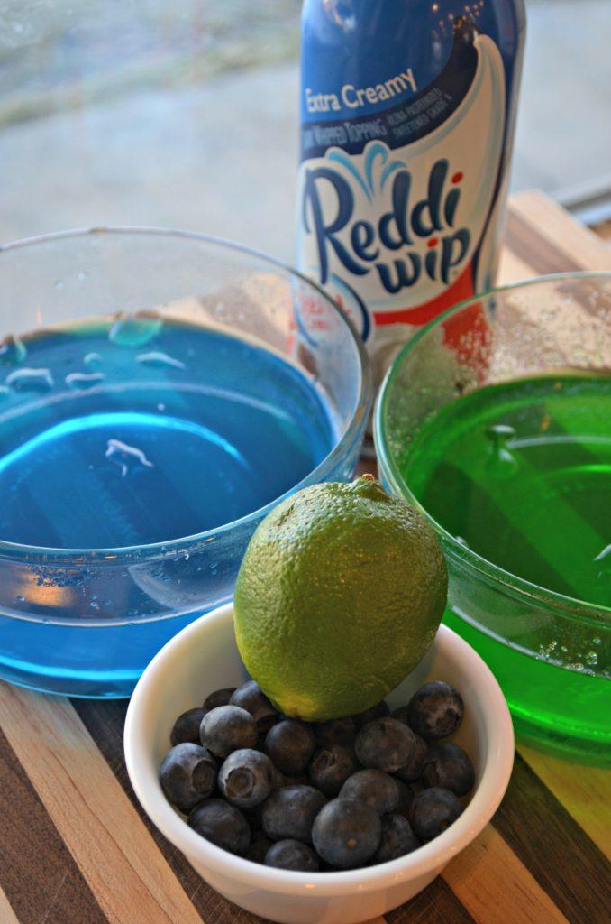 Seahawks Dessert Shooters Ingredients