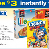 Quaker Mix and Match Sale Albertsons
