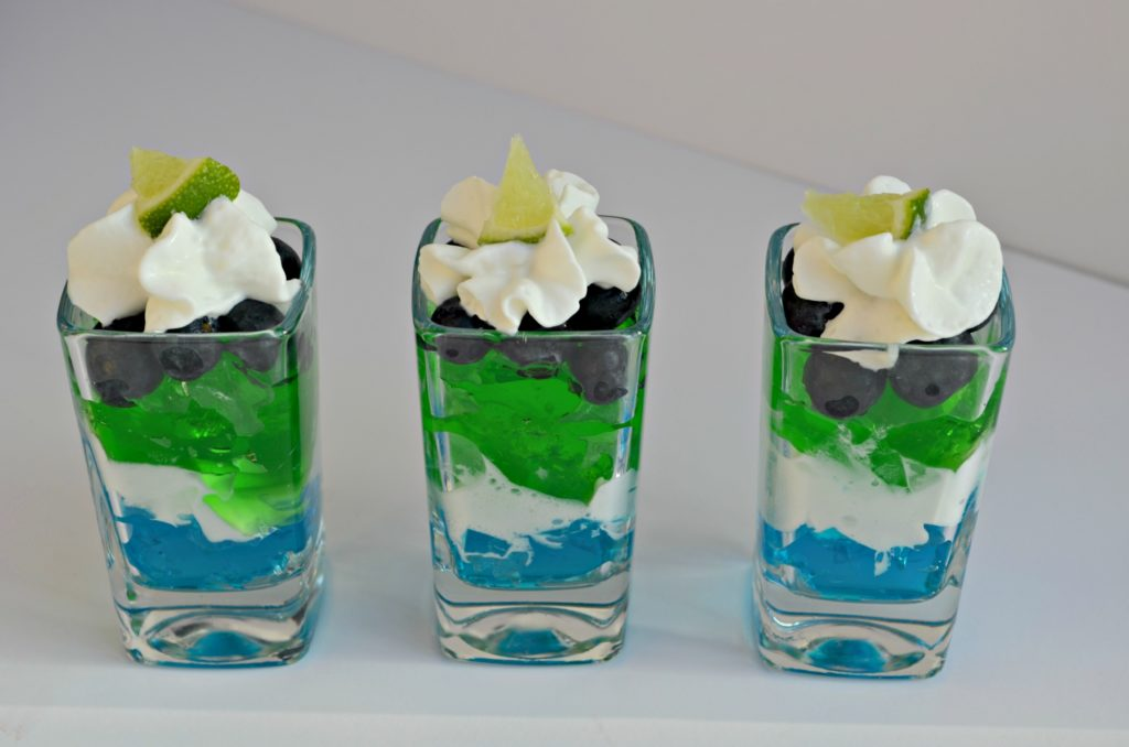 Seahawks Dessert Shooter