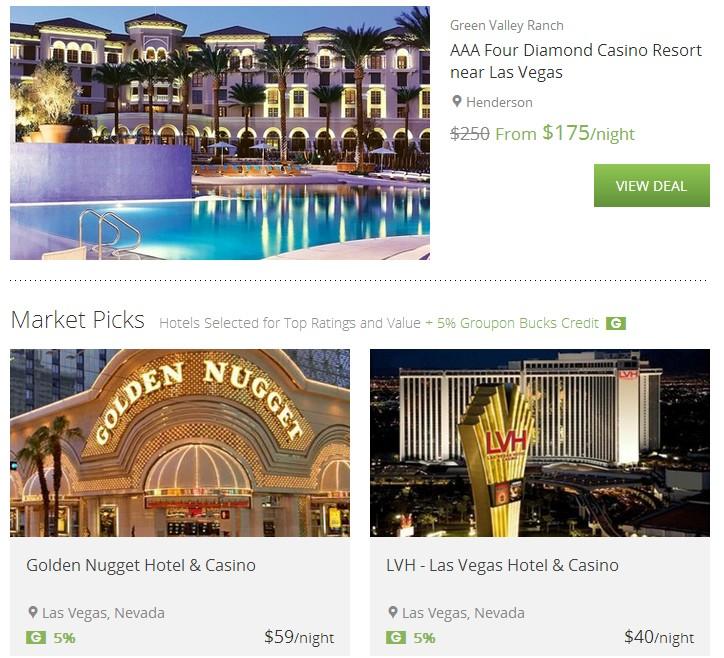 Las Vegas Hotel Discounts