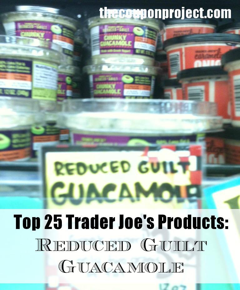 Trader Joe's Reduced Guilt Guacamole