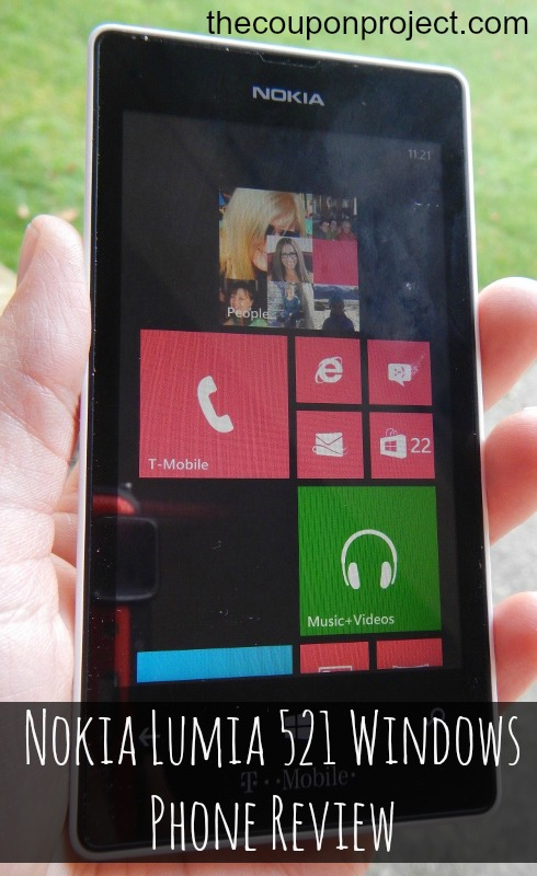 Nokia Lumia 521 Phone Review