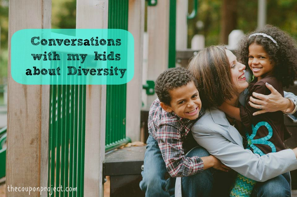 Conversations with my kids about Diversity | The Coupon Project