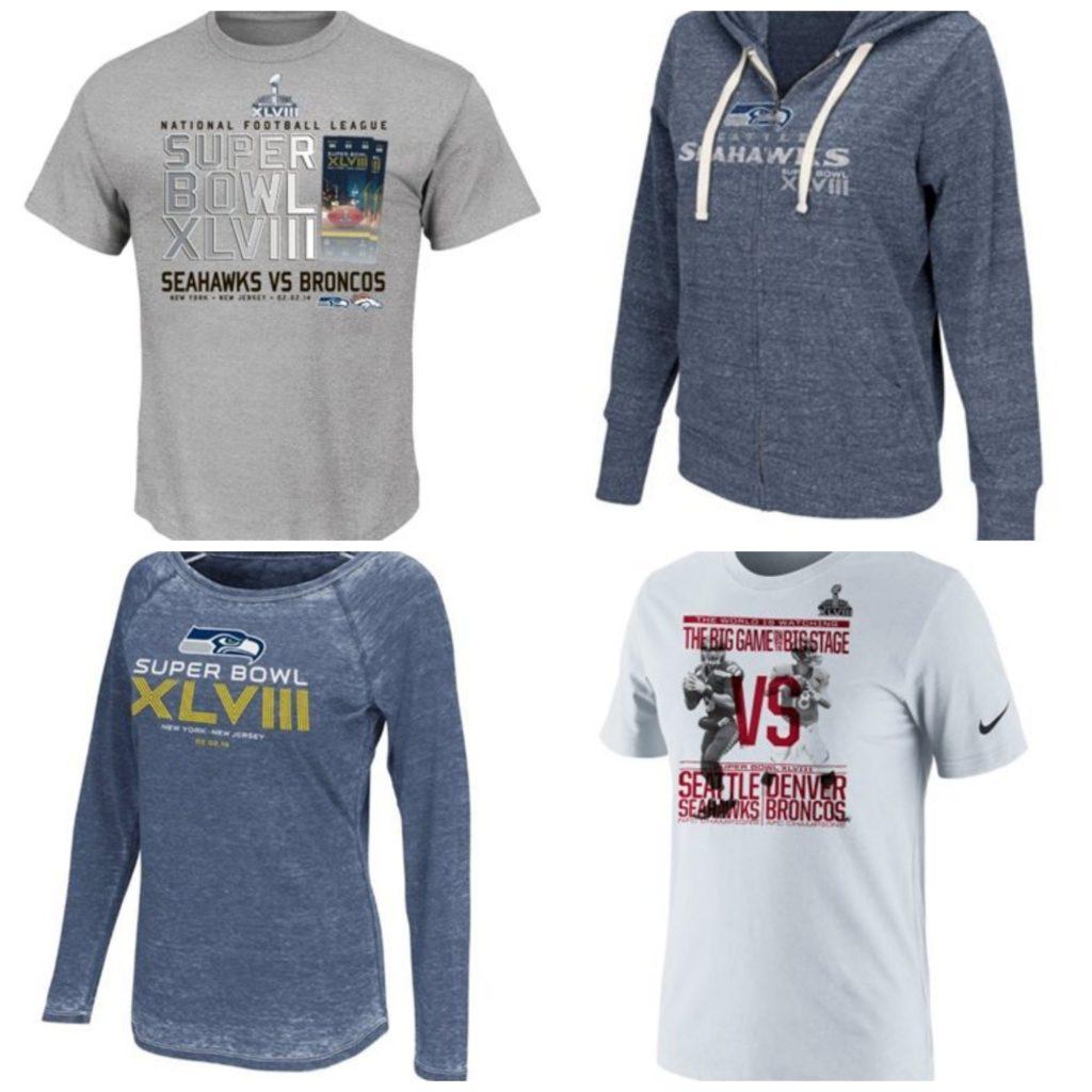 Seahawks Superbowl Shirts