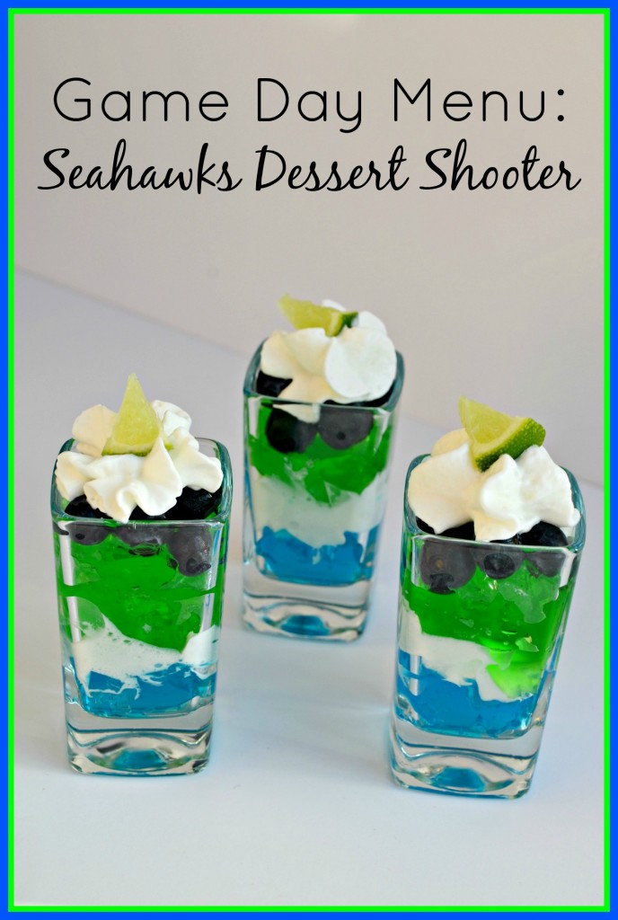 Game Day Menu: Seahawks Dessert Shooter | The Coupon Project