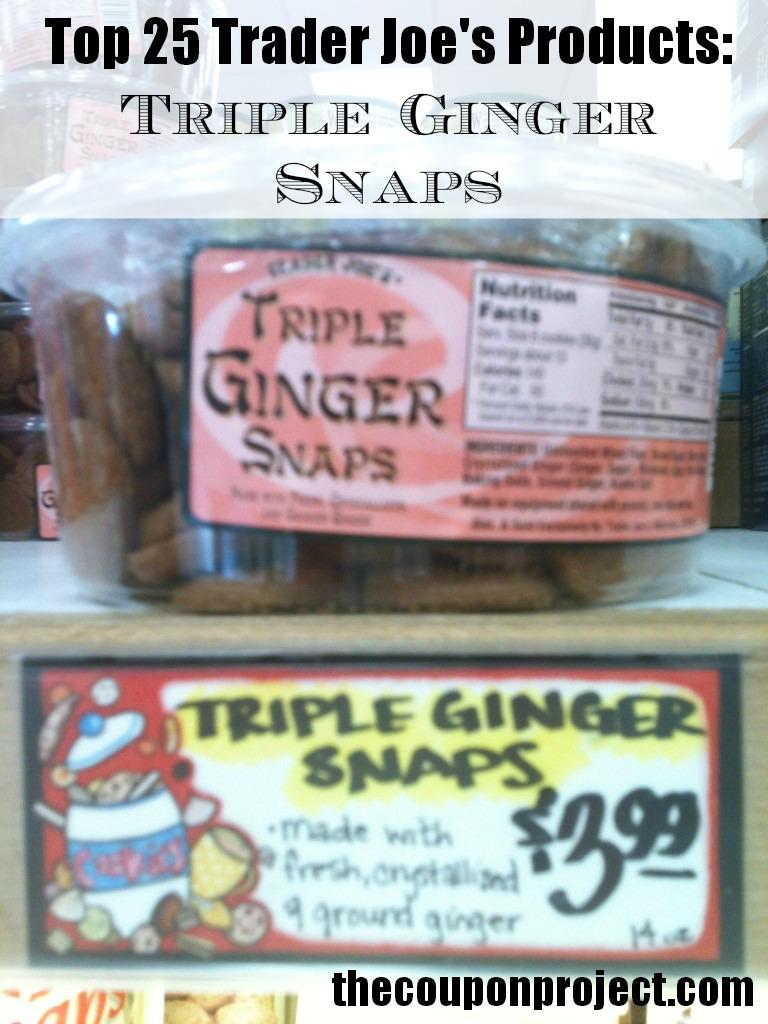 Trader Joe's Triple Ginger Snaps