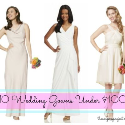10 Wedding Dresses for under $100