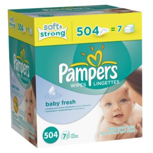 Pampers Softcare Baby Wipes