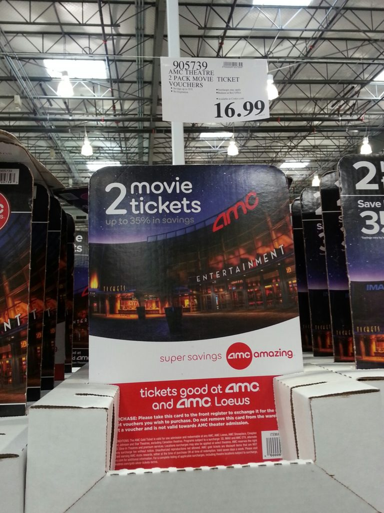 AMC Movie Tickets Gift Card Costco