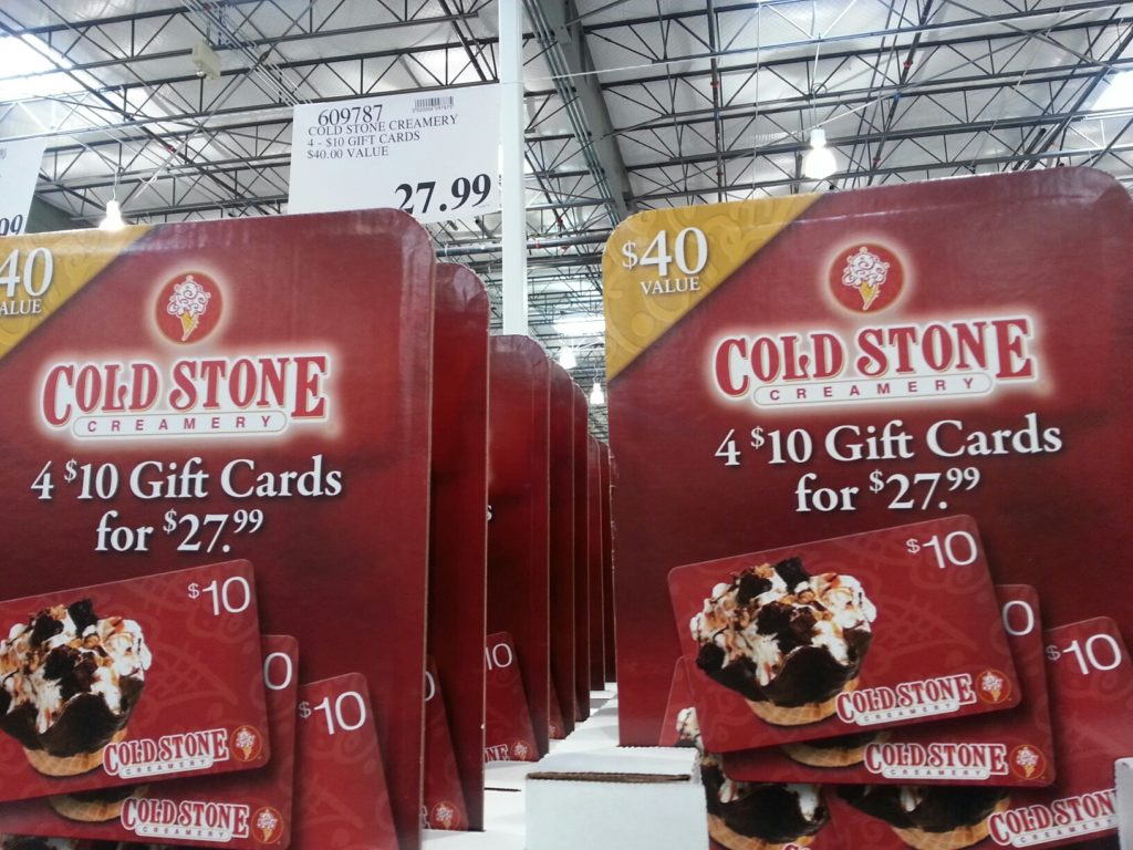 Cold Stone Gift Card Costco