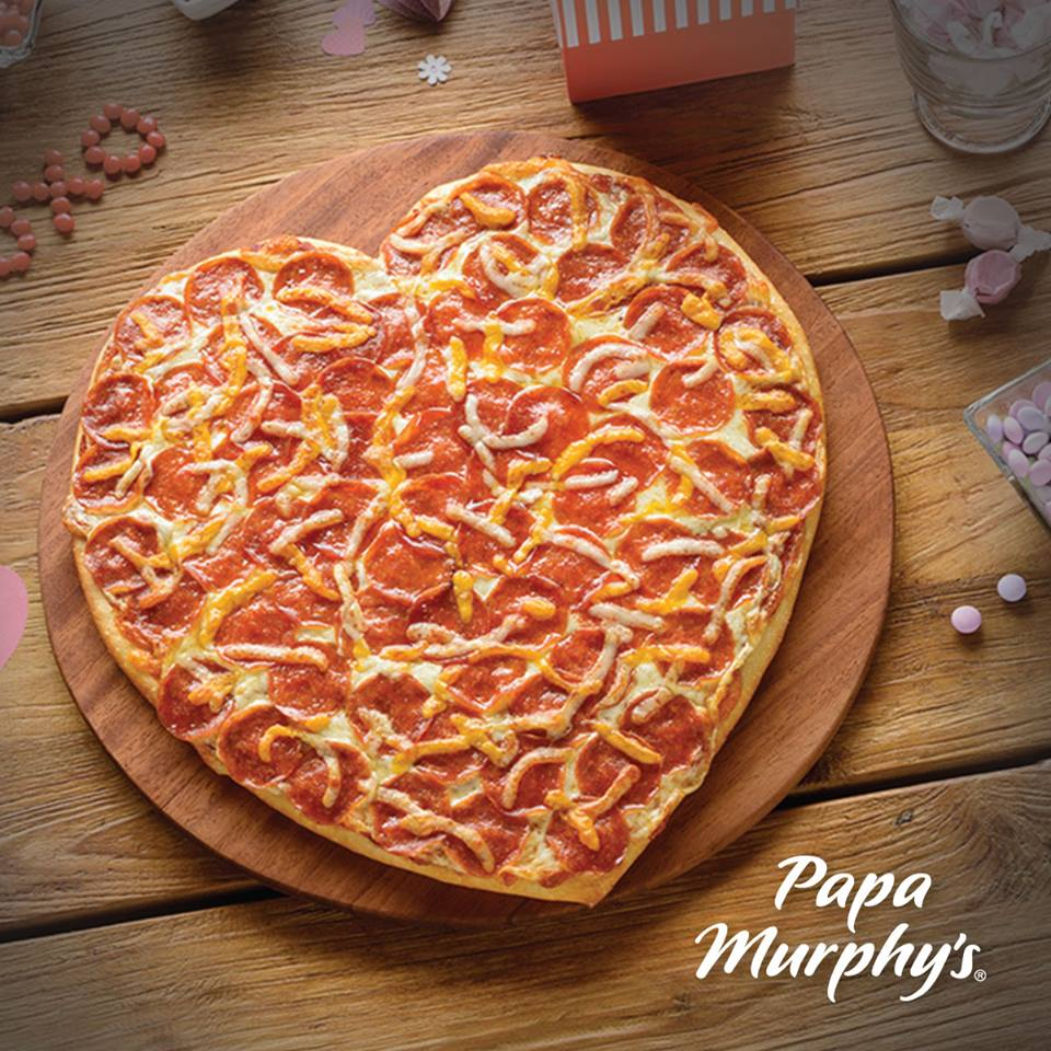 Papa Murphy's Heart-Shaped Pizza