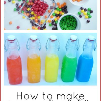 How to Make Skittles Infused Vodka | The Coupon Project