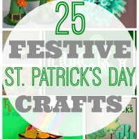 25 Festive St. Patrick's Day Crafts