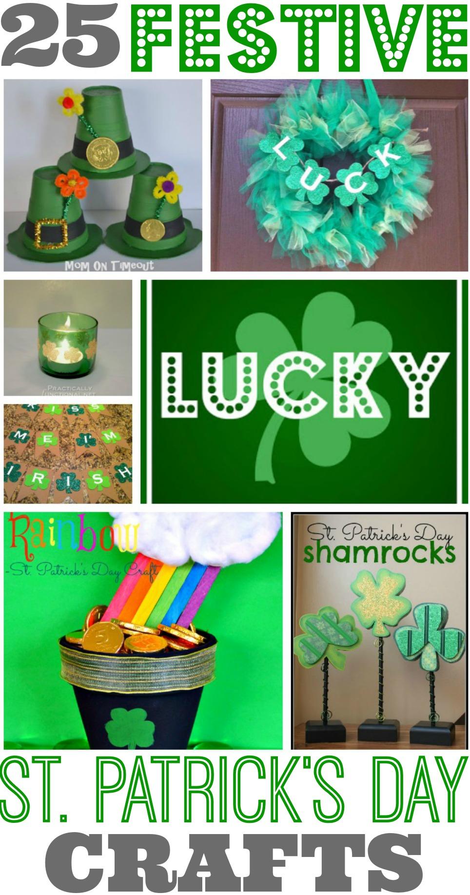 25 St Patrick's Day Crafts
