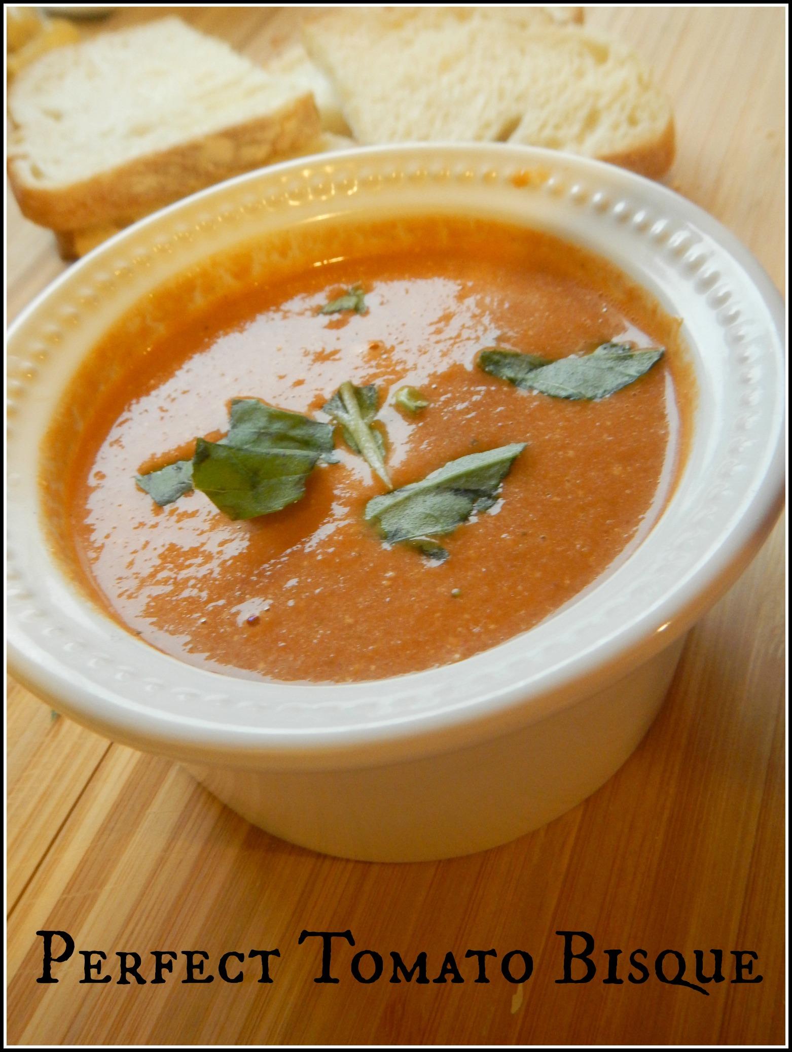 Perfect Tomato Bisque Soup Recipe