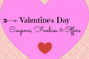 Valentine's Day – Coupons, Offers & Freebies 2017
