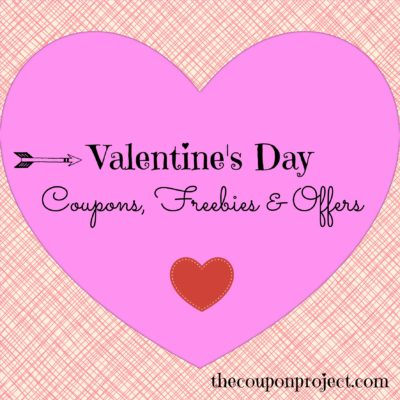 Valentine's Day – Coupons, Offers & Freebies 2018