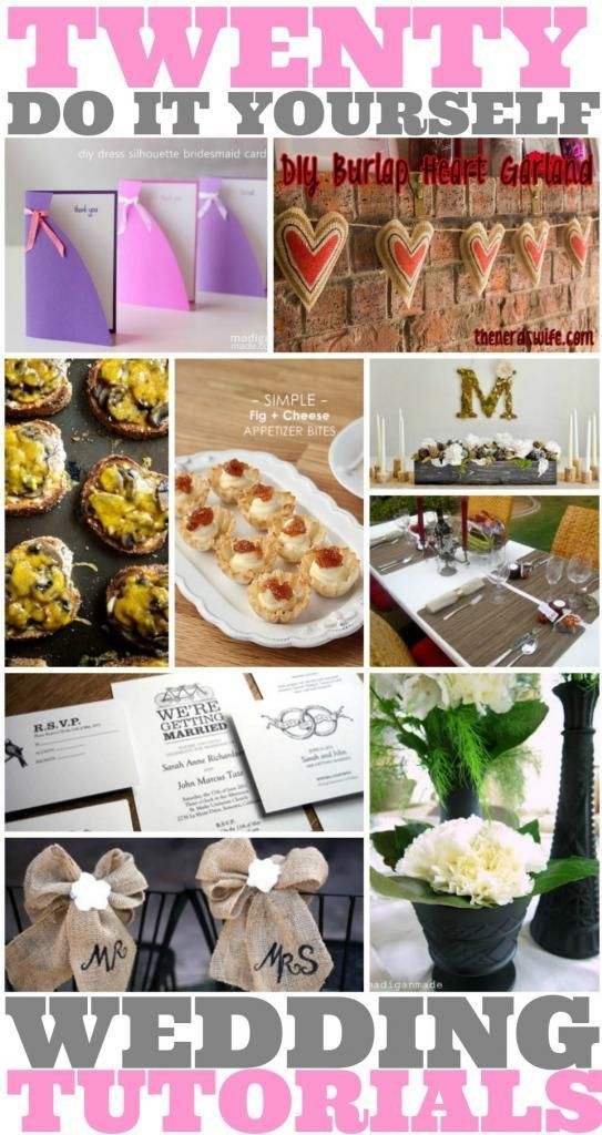 20 diy wedding decor tutorials solutioingenieria Image collections