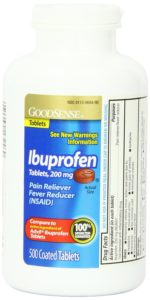 Good Sense Ibuprofen Pain Reliever Fever Reducer Tablets, 200 mg