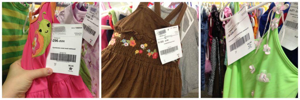 JBF girls clothes