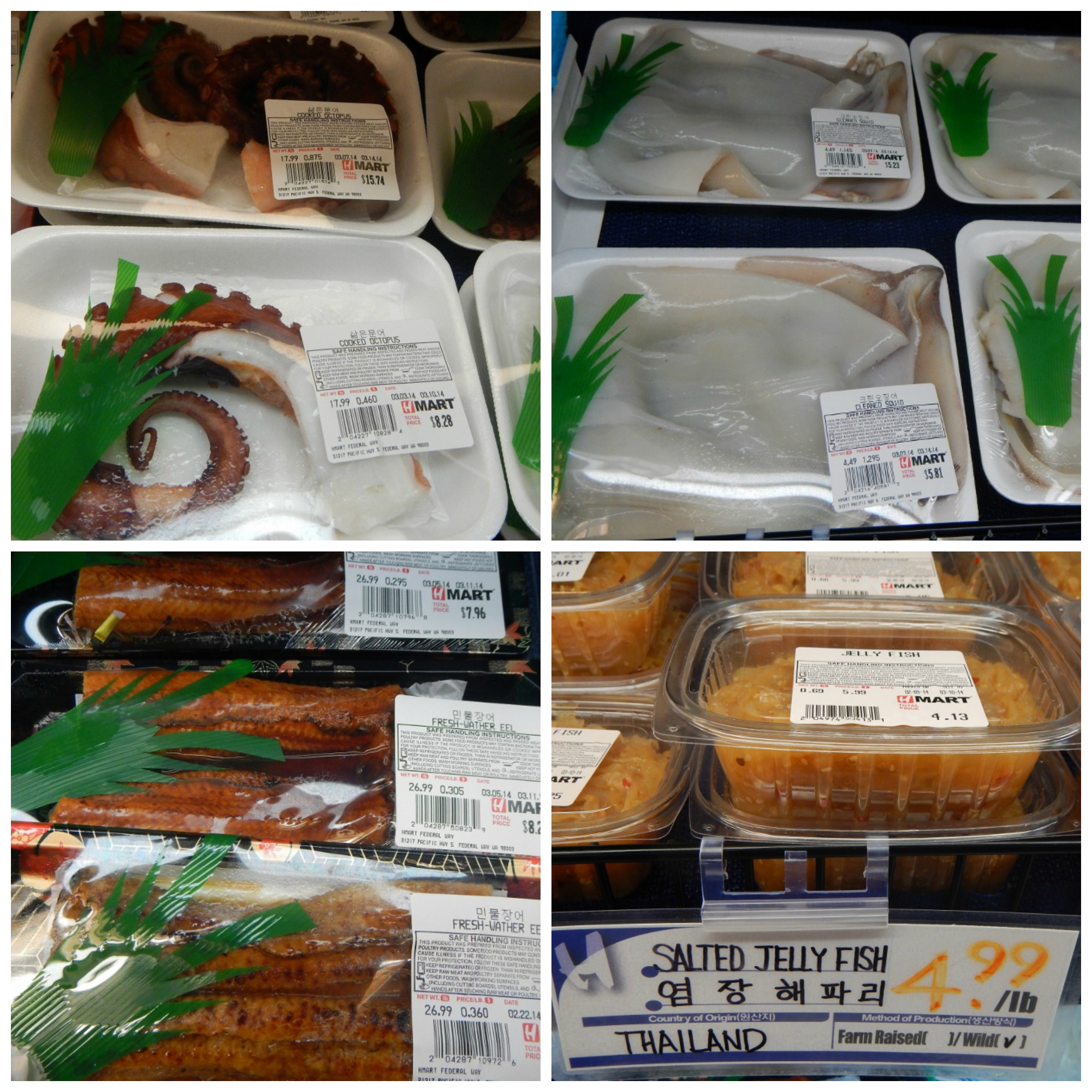 H Mart Live Octopus  See  shopping at Hmart is a