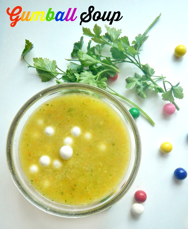 Gumball Soup Recipe - different, delicious, and surprisingly nutritious!