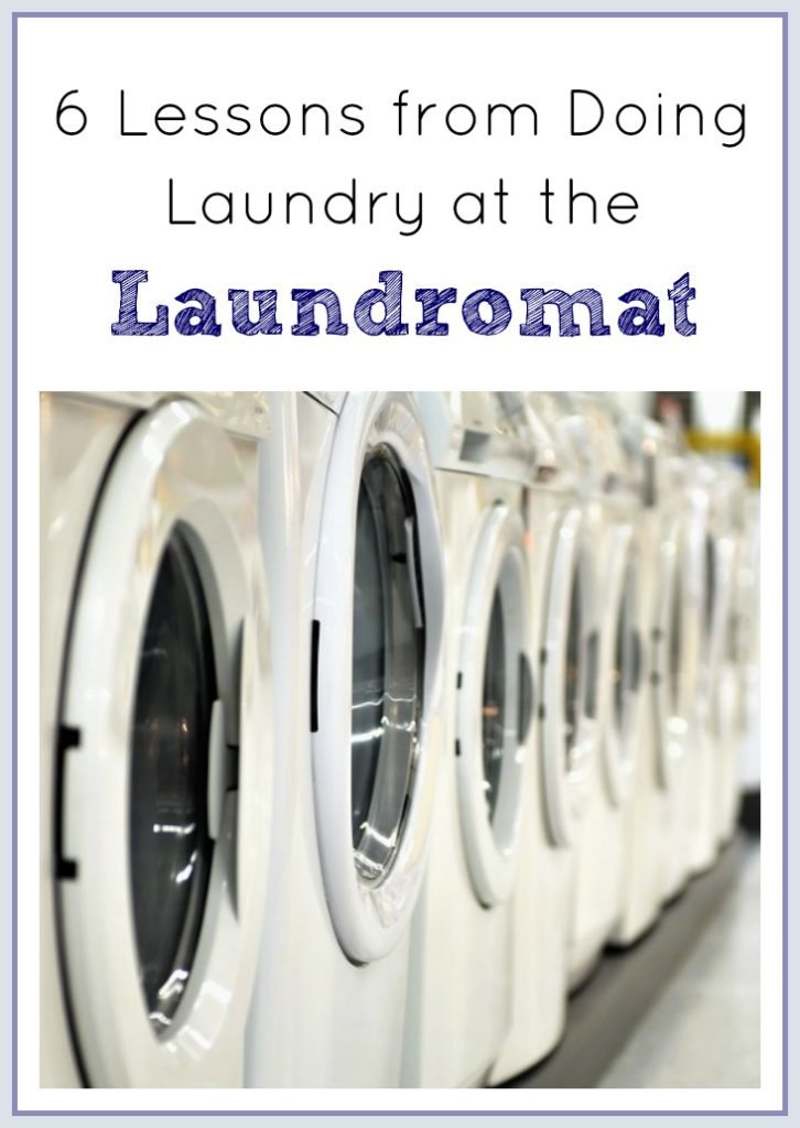 6 Lessons from Doing Laundry at the Laundromat