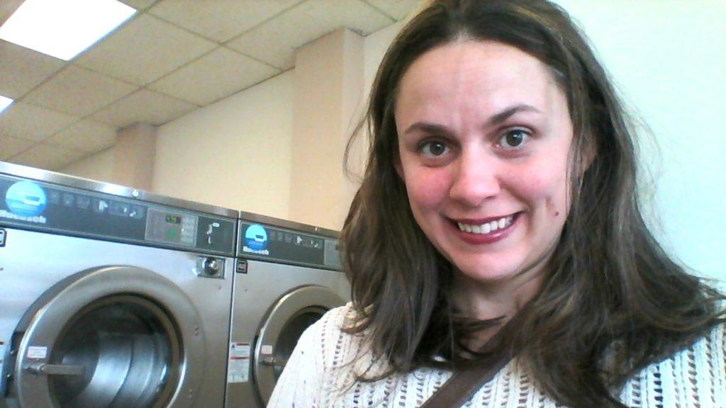 laundromatselfie