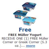 Free Muller Yogurt