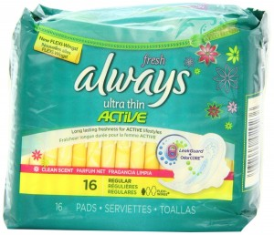 Always Ultra Thin Regular w Flexi-Wings Scented-16