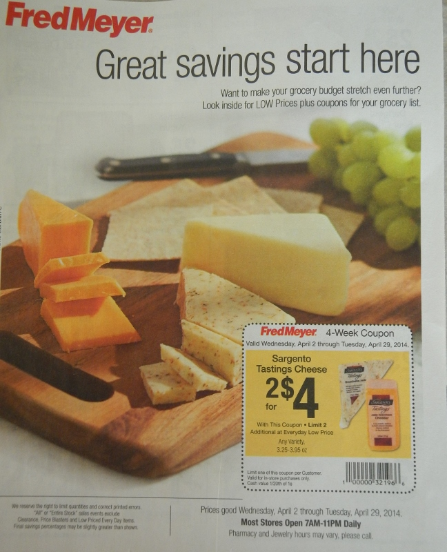 Fred Meyer Great Savings Start Here Coupon Booklet