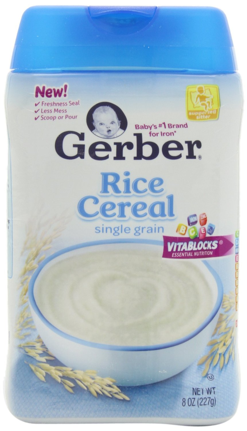 Rice or oatmeal cereal for baby
