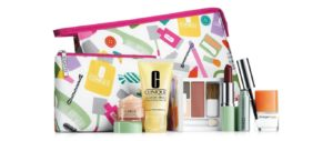 NEW Clinique Skin Care Makeup 8 Pc Gift Set 2014 Fall All About Eyes & More! ($70 Value)