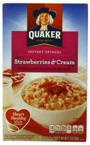Quaker Strawberries & Cream