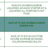 Scotts Miracle-Gro Garden Soil Rebate: Up to $30 Back