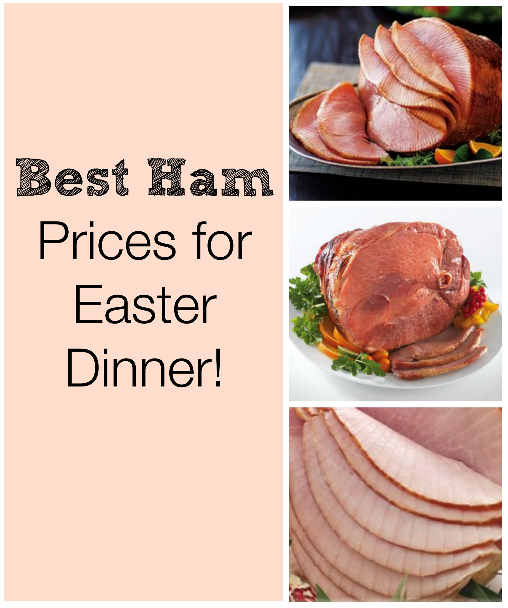 What is the best spiral sliced ham from grocery store