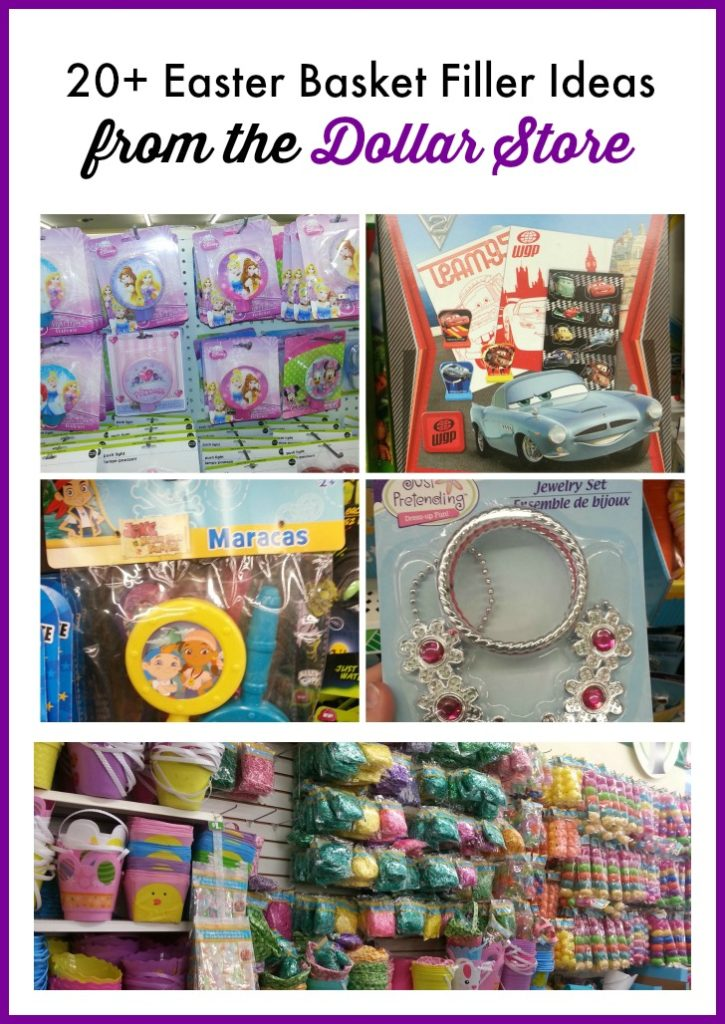 20+ Easter Basket Filler Ideas – all from the Dollar Store!