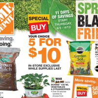 "Home Depot Spring ""Black Friday"" – HOT Deals On Mulch, Garden Soil & More!"