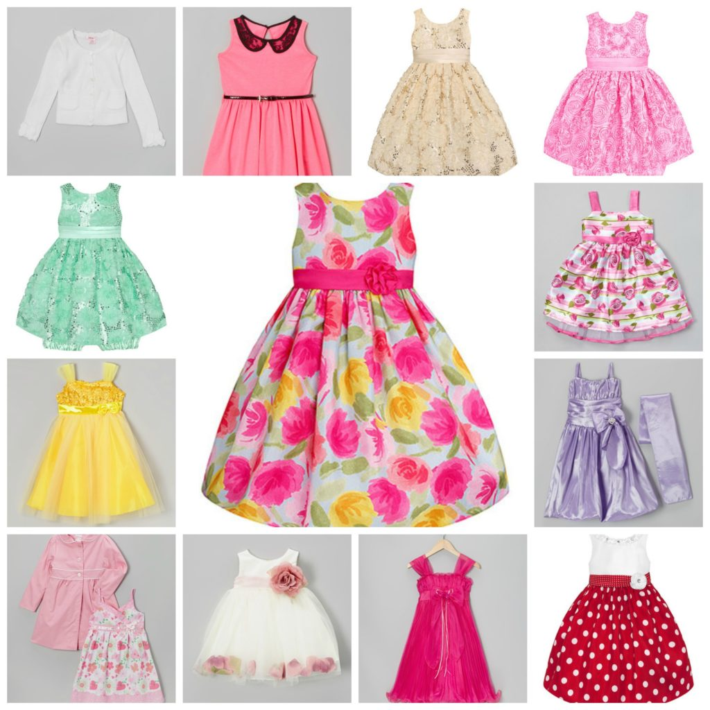 Zulily: Darling Girls' Easter Dresses as low as $12.99!