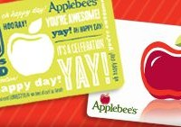 Applebee's bonus card