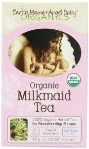 Earth Mama Angel Baby Organic Milkmaid Tea, 16 Teabags Box