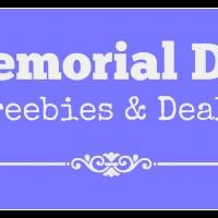 Memorial Day Freebies & Deals 2016