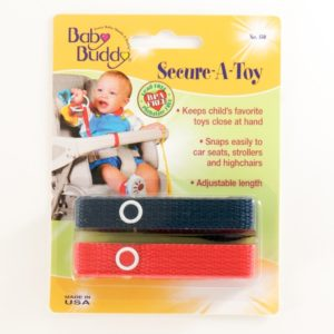 Baby Buddy 2 Pack Secure-A-Toy