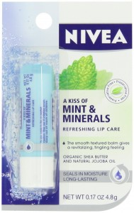Beiersdorf Kiss of Mint and Minerals Lip Care Blister Card, 0.17 Ounce