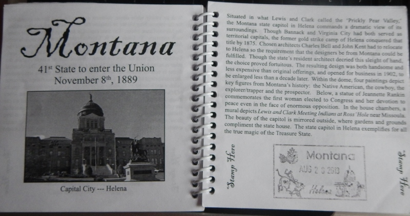 US Capitol Collections Passport Book