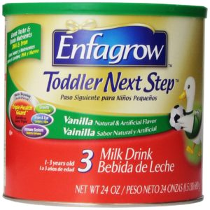 Enfagrow Toddler Next Step Vanilla, Powder Can, 24 Ounce