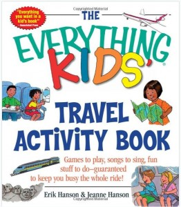 Everything Kids Travel Activity Book