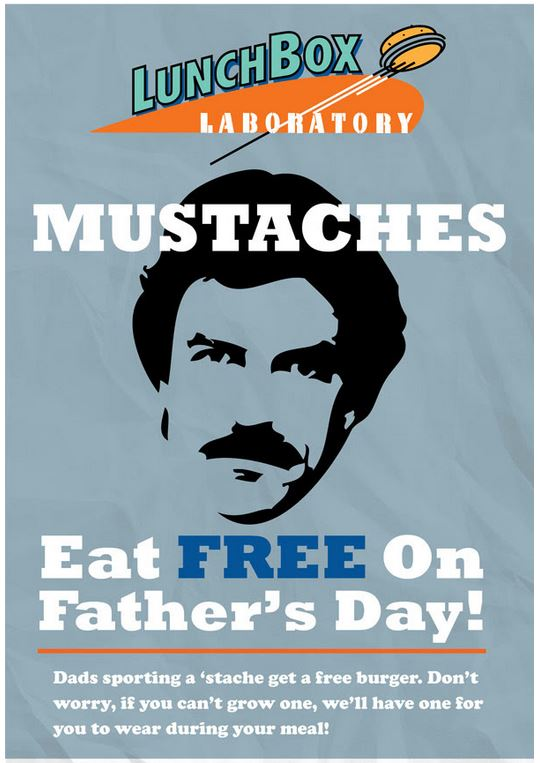 Lunchbox Laboratory dads eat free